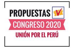 Propuestas de Unión por el Perú