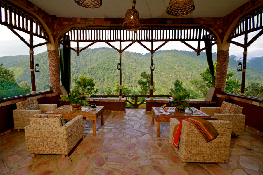 Silverback Lodge Reception Lounge