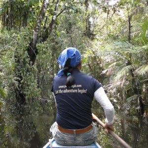 jungle canoeing