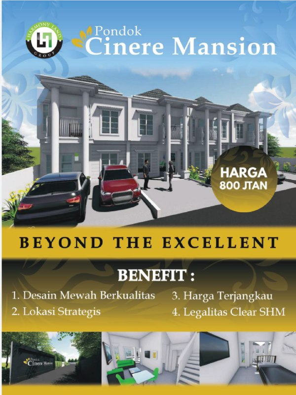 pondok cinere mansion