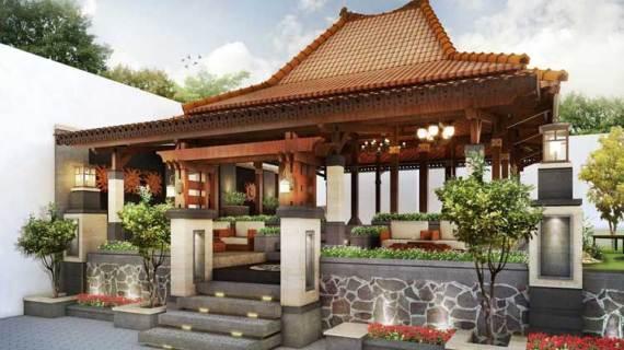 Contoh Desain Rumah Tradisional Jawa Minimalis Modern