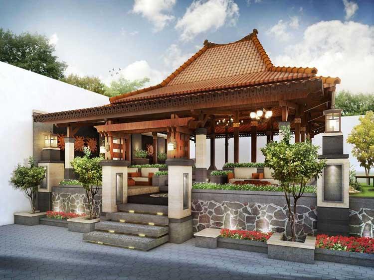Desain Rumah Tradisional Jawa Minimalis
