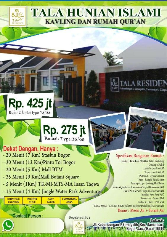 Rumah Syariah Tala Residence