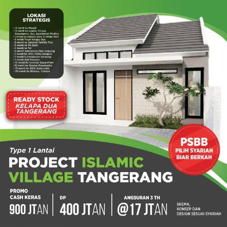 Rumah Syariah Kelapa Dua Tangerang