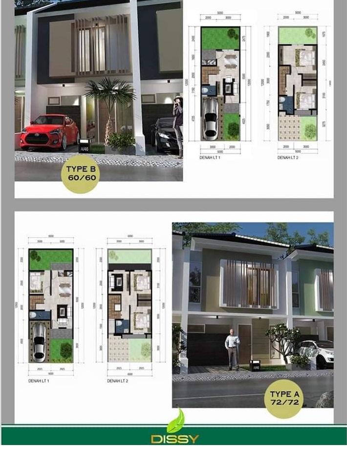 Dissy Pamulang Residence Townhouse Murah di Tangsel