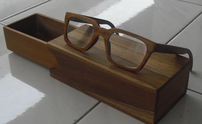Eyeglass Wood Frame Kacamata Kayu Perusahaan Furniture