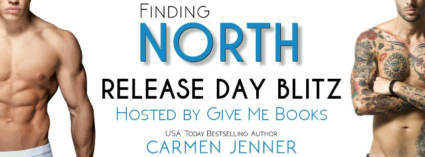 Release Blitz for Finding North by Carmen Jenner
