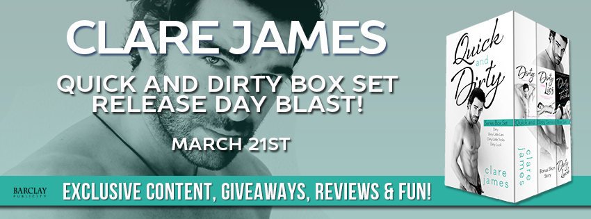 The Quick and Dirty Series Box Set by Clare James