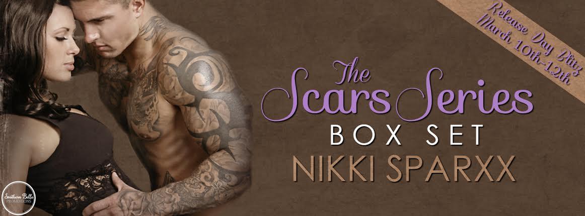 Nikki Sparxx - The Scars Series Box Set - Release Blitz