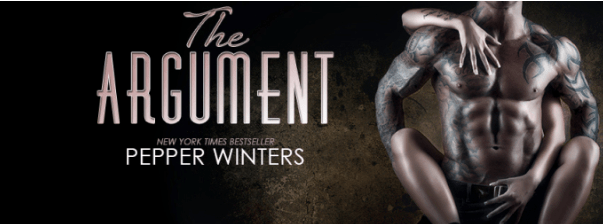 The Argument by Peper Winters - Cover Reveal