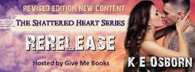 Re-release Blitz for The Shattered Heart Series by K E Osborn
