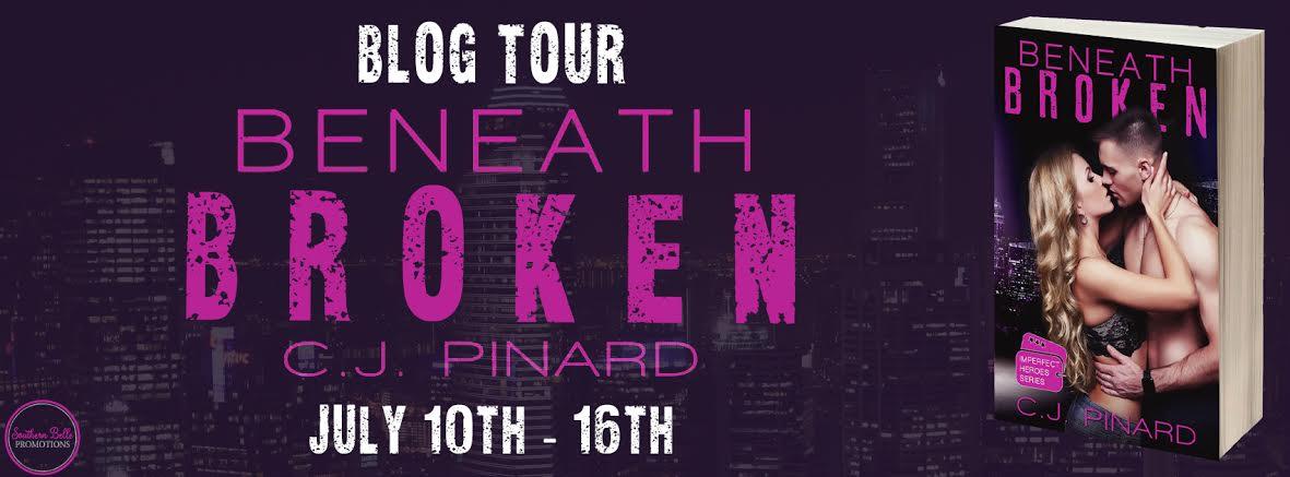C.J. Pinard – Beneath Broken – Blog Tour