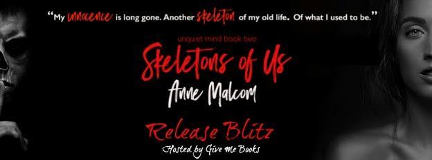 Release Blitz for Skeletons of Us by Anne Malcom