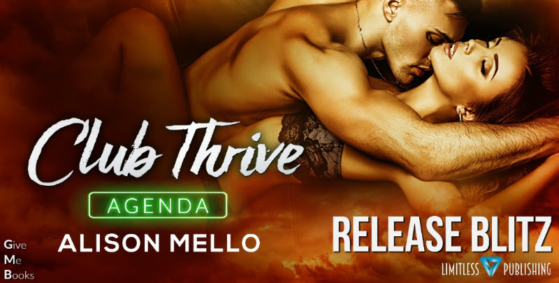 Hot New Release - Sept 5 - Club Thrive: Agenda by Alison Mello