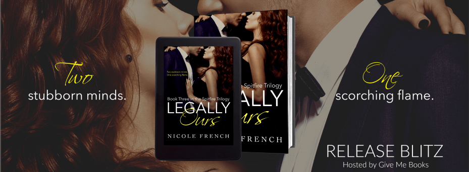Hot New Release -Sept 14-Legally Ours by Nicole French