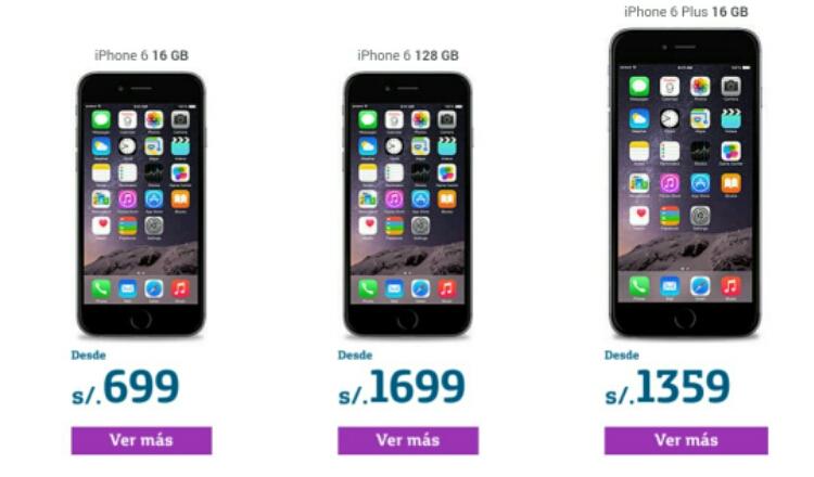 Iphone  Plus Movistar Precio
