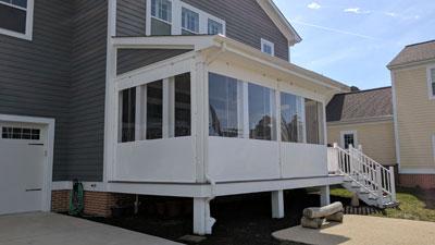 porch enclosure systems clear vinyl