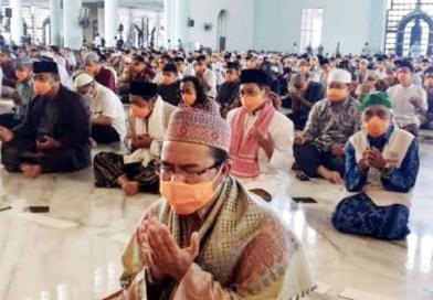Hukum Shalat Berjama'ah dengan Memakai Masker