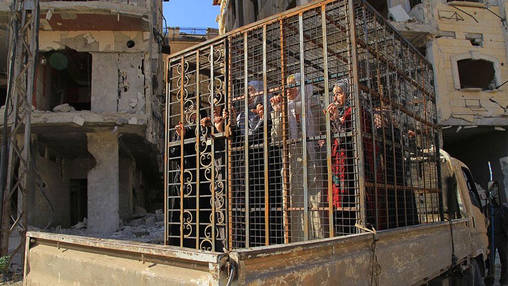 People in a cage  Svetlana Slapak  Peanik