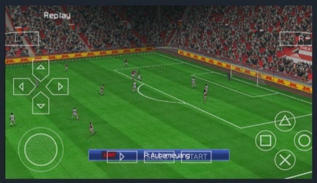 Download PES 2021 PPSSPP LITE 300MB PS4 Camera English Version
