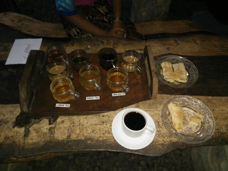 Coffee taste in Bali