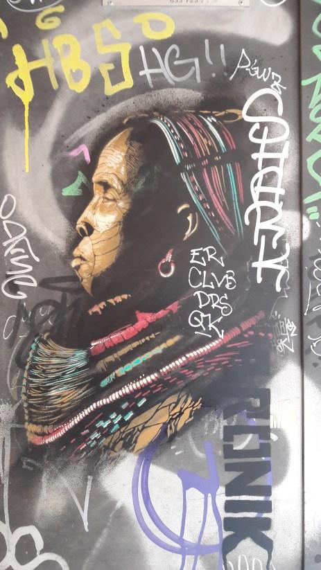 Lagos - Not sure if it's grafitti