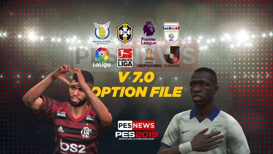 PS4] PES 2019 Option File PESNews V7 para DLC 5 0 - PES News