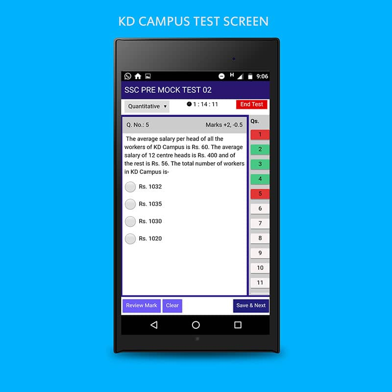 examination conducting app