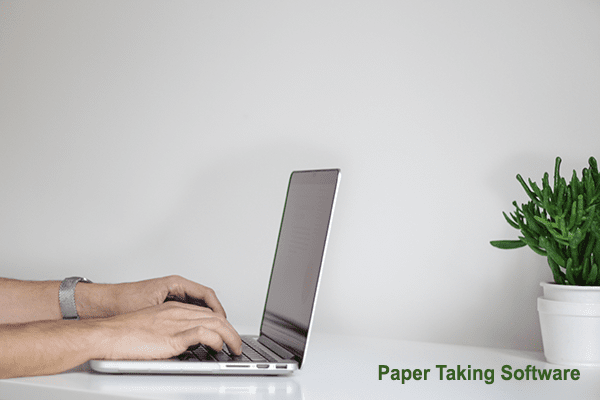 paper Taking software