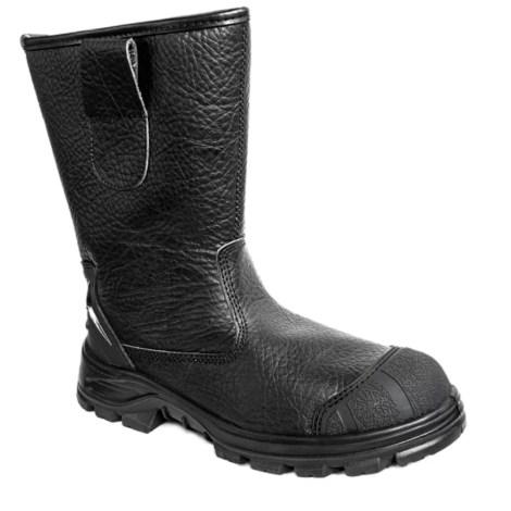 Leather safety shoes Pesso BSS/B643 pessosafety.eu