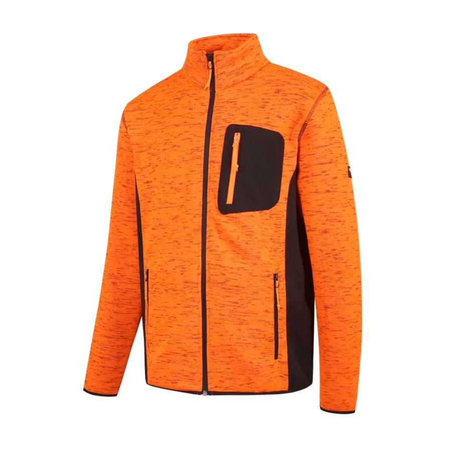 Warm Fleece sweater Pesso Florence, orange pessosafety.eu,,,,