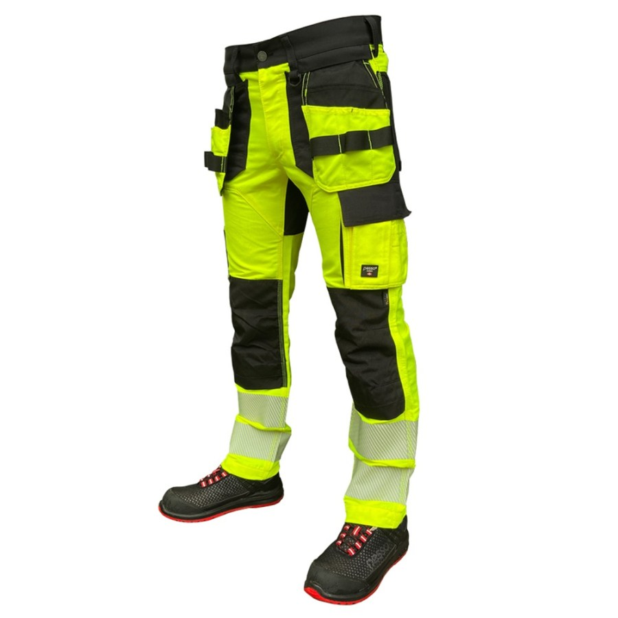 High Visibility trousers Pesso Nordic Uranus Flexpro 135 pessosafety.eu