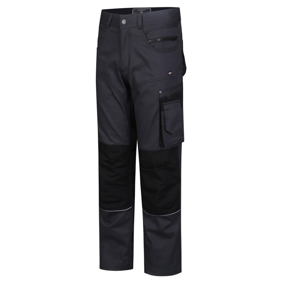 Workwear trousers Pesso Stretch KDSTRETCHP, grey pessosafety.eu