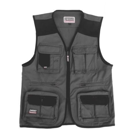 Workwear vest Pesso DICP, greu pessosafety.eu