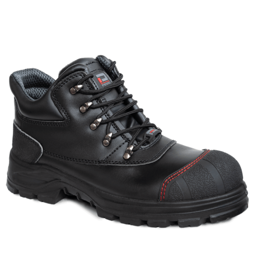 Leather safety shoes Pesso Barents S3 pessosafety.eu