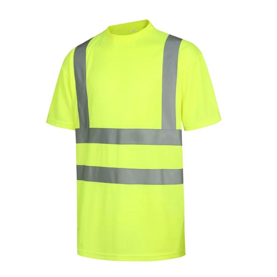 High visibility T-Shirt Pesso HVM, yellow En20471 Class 2 pessosafety.eu