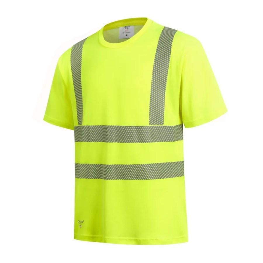 High visibility T-Shirt HVMCOT EN 20471 Class 2 pessosafety.eu
