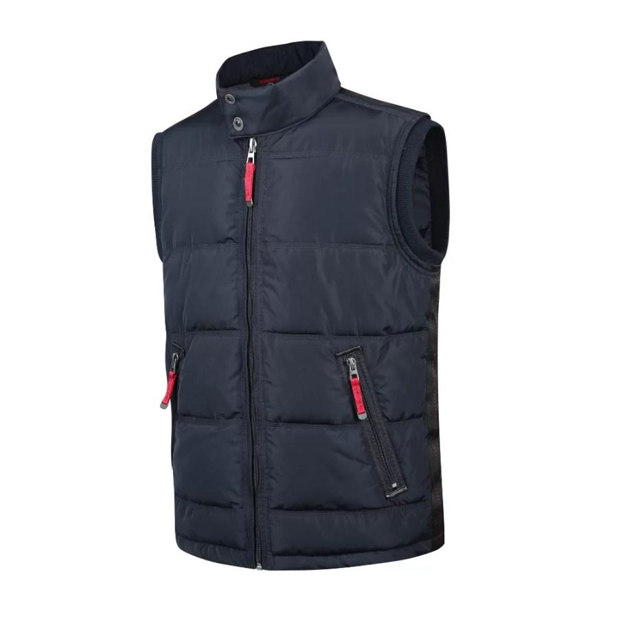 Warm padded wateproof, windproof vest Pesso Toronto navy pessosafety.eu