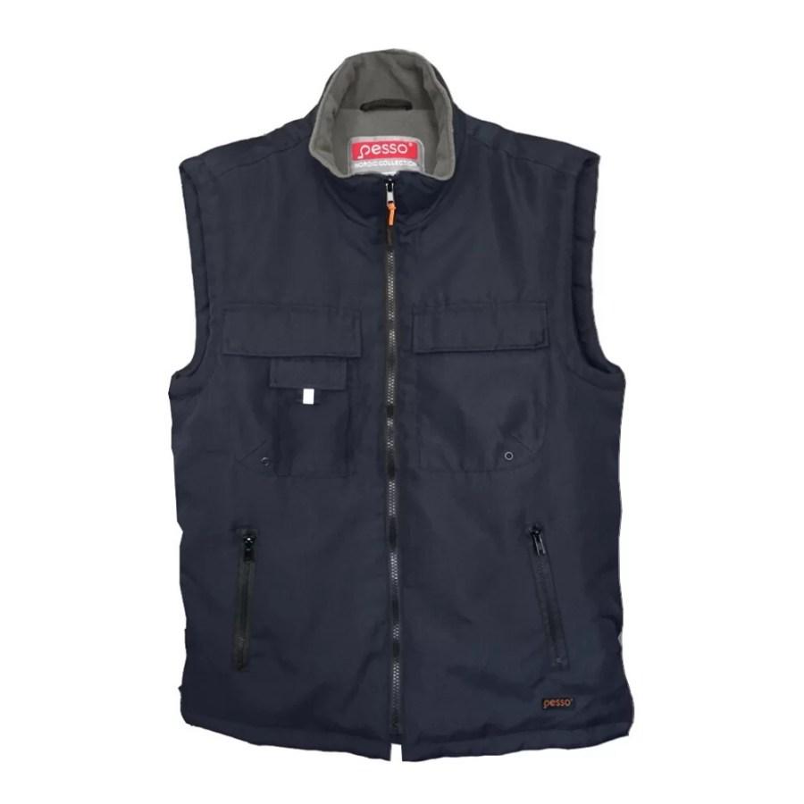 Warm vest Pesso LSPMN, Fleece pessosafety.eu