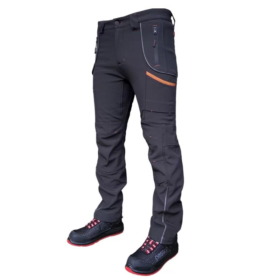 Softshell Pants Pesso Nordic Nebraska, grey | pessosafety.eu