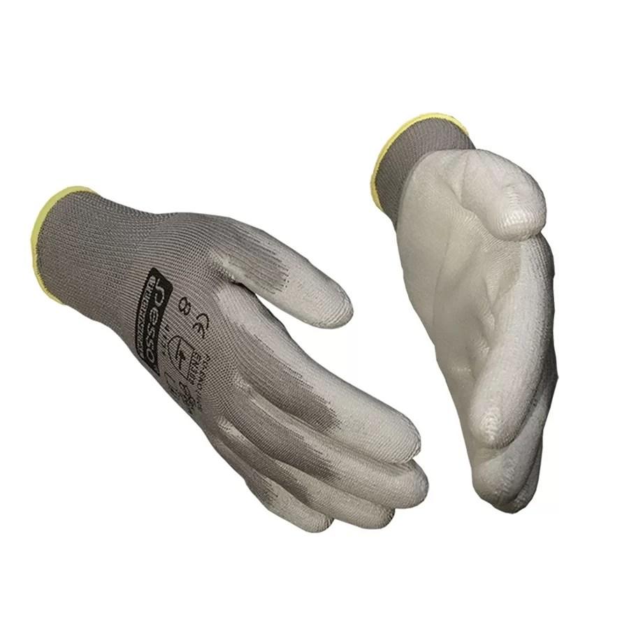 Working gloves semi - dipped in PU Pesso PUEKOP pessosafety.eu
