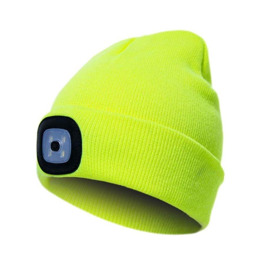 Workwear High visibility beanie with LED light Pesso Nordic KLED pessosafety.eu
