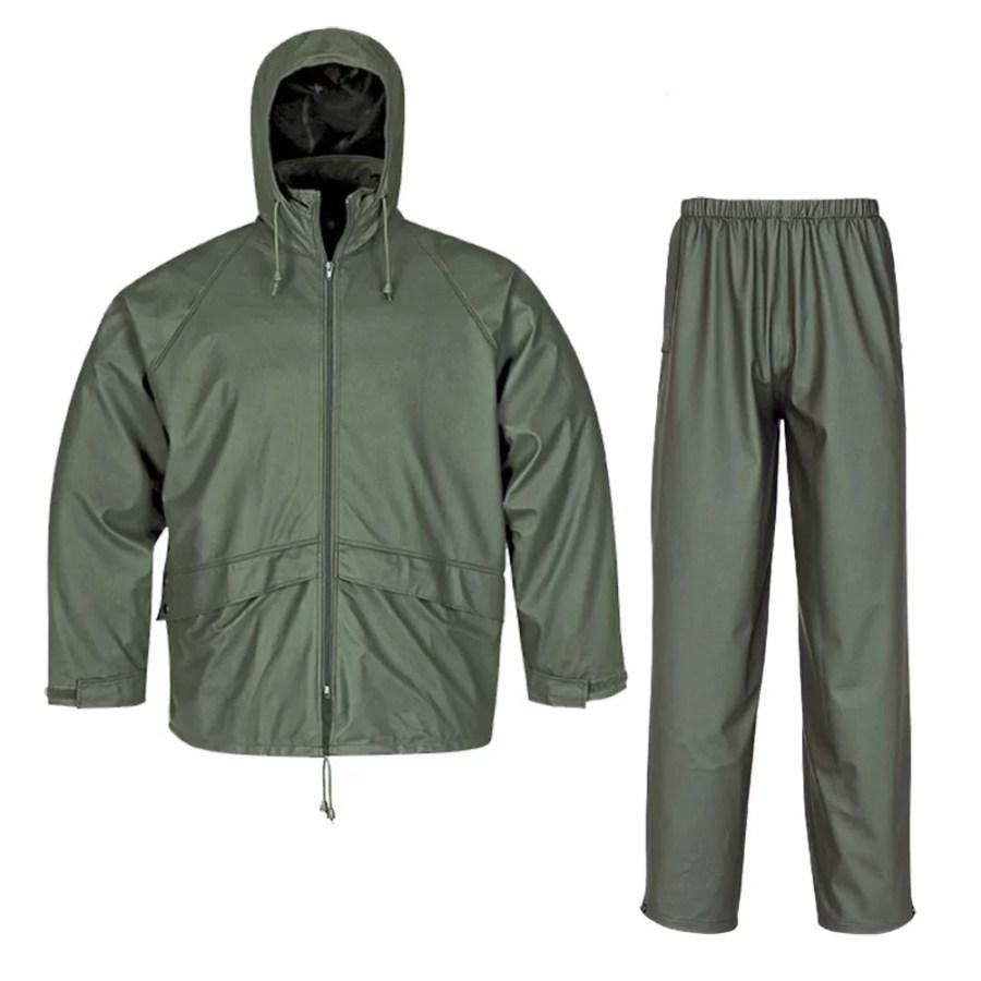 Workwear rain costume Pesso Nordic GPU801+802 pessosafety.eu