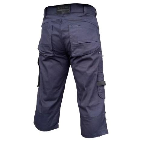 Workwear pirate trousers Pesso Stretch 215, navy Pesso Workwear pessosafety.eu