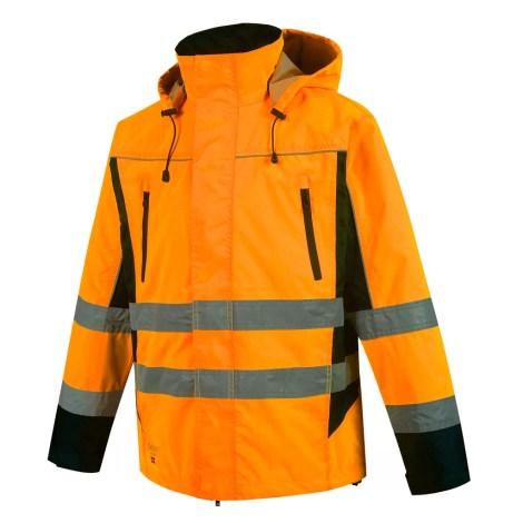 Winter Jacket Pesso Denver, High visibility yellow Oxford 300D pessosafety.eu