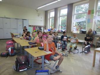 Ein Klassenraum