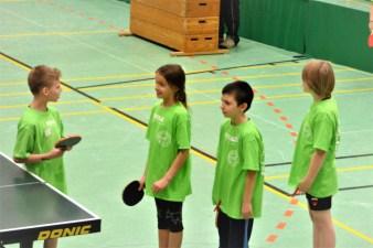 003 Bild 3 Klasse S4 bestreitet ihr erstes Spiel