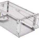 Kensizer Small Animals Humane Live Cage Rat Mouse Trap