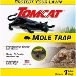 Tomcat Mole Trap, Protect Your Lawn with a Safe & Easy Trap