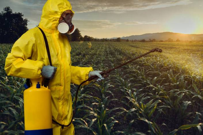 Most common pesticides used in agriculture